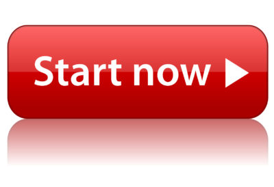 START NOW Button (web internet power on continue click here go)